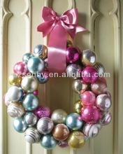 2014 Popular Style Decorative Plastic Ball Christmas Ornaments