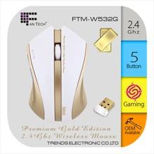 Super Mini RF Wireless Optical Mouse Fantech W6G Personalized Wireless Mouse