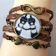 A buon mercato fatti a mano di modai braccialetti, braccialetto manetta peril 2015