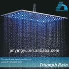 JFQ046CP top luxury led change color shower head light
