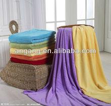 super soft purple coral fleece blanket,coral fleece baby blanket