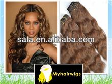 Wholesale Human Hair Brazilian Human Hair 5A Grade Virgin Weaving 100% Human Hair