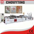 Chovyting cwzd- 400b chine fournisseur côté étanchéité sachet en plastique faisant/machine sac fabricants./zip lock bag machine