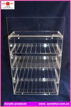 Clear Acrylic E cigarette Display Cabinet