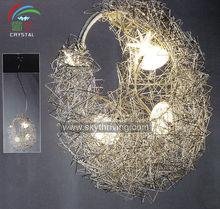 chandelier handmade aluminum artistic ceiling lamp