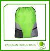 2014 hottest logo printed polyester bag or nylon drawstring backpack