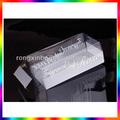 Vendita calda in pvc trasparente box/vino contenitore di pvc/chiaro cupcake contenitore di pvc