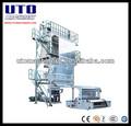 Alta velocidade de cinema de sopro da máquina unidade, com efeito de estufa film máquinas e filme geomembrana, extrusora de filme de máquinas