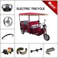 popular triciclo eléctrico de piezas de repuesto