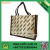 custom made personalised jute bag