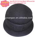 Fabrication/gros melon noir cloche hiver, chapeaux, dames. populaire. lana cap100% feutre de laine porte nouveauté/adulte,/enfants accessoires