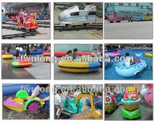 kids entertainment rides mini train with track