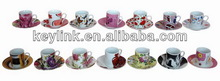 Design novel ceramic cups for dairy products
