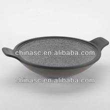 Die cast stone sauce pot korean