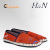 Italian luxury men canvas shoes
