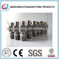40a açoinoxidável três peças mangueira flexível acoplamentos de tubos