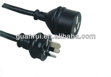 16A 250V ac plug extension power cable with in SAA standard