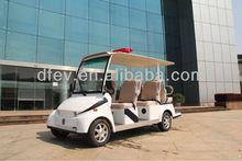Electrical car patrol car