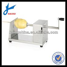 H001 manual hand spiral potato cutter