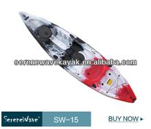lightweight sit on top plastic fun boat