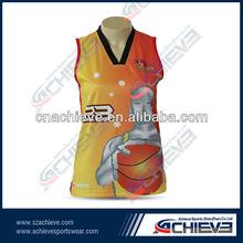 High quality basketball tops bulk selling for team