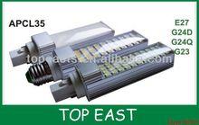 G24D G24Q GX23 G23 SMD5050 12W g24d led corn lightCE ROHS cheaper price