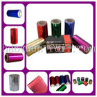 HAOYUAN colored aluminium foil roll for hairdressing salon dyeing
