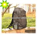 El panel solar mochila con 4w de alta calidad de panel solar, directamente el iphone de carga, ipad