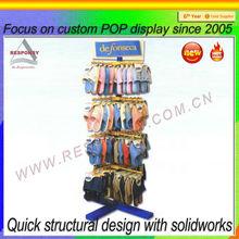 Custom shoe rack POP wicker shoe rack
