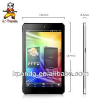 Super Slim 7 INCH IPS Tablet 1280*800 1GB RAM 8GB HDD KP-718