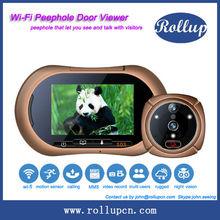 2014 wifi smart home,wireless door eye,wifi peephole viewer