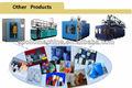 China famosa de plástico bidones/garrafas botella de la máquina de bolas de la venta caliente/especificación de moldeo por soplado de la máquina