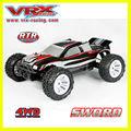 Vrx rc corridas de carro 1/10 escala 4wd nitro gás alimentado rc carros go 18 carros de motor nitro carro de brinquedo motor de gasolina