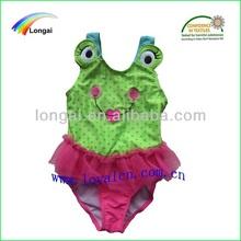 summer frog design girls sexy swimming wear