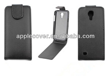For Mobile phone Luxury Flip Leather Case for Samsung S4 Mini