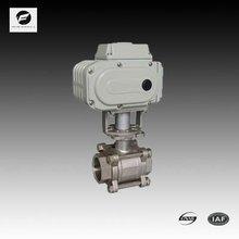 electric ball valve auto return valve 10 bar