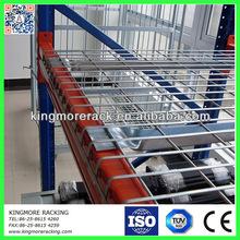 Steel warehouse pallet rack wire decking