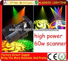 LED Scan Gobo Rotation light 60W rotating stage light