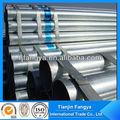 la mejor calidad de hierro galvanizado tubo redondo de acero