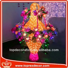 Attractive giant inflatable flower decoration