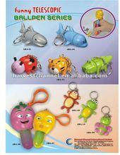 cute animal shape extenable plastic pen/ball pen/Promotion pen