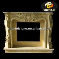 butane fireplace/stone fireplace