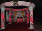 Fiber Carved wedding flower pagodas