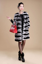 Genuine Sheared Rabbit Fur Jacket winter garment charm female coats/free shipping/wholesale/retail