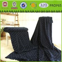 White dot cheap black coral fleece blanket 2014 nhl fleece fabric