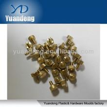 Knurled head thumb screws/ Brass parts/ Copper screws