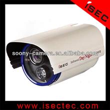 50m long range Waterproof IR bullet cctv camera with array led