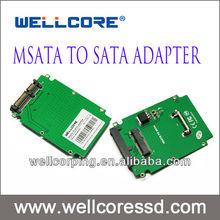 "Wellcore Mini SATA Micro SATA 1.8"" to 2.5"" SATA Convert Adapter with good price !"