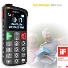 2014 best senior cellphone with sos panic alarm button and fm radio phone