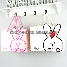 Promotional Drawstring paper shopping bag